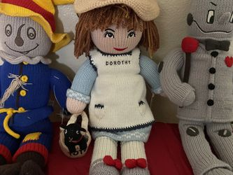 Classic Wizard Of Oz Polly Knitted Doll Set of 3 Limited Edition for Sale in Portland,  OR