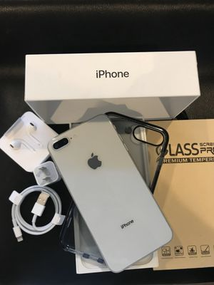 IPHONE 8+PLUS UNLOCKED FOR ANY CARRIER COMPANY & WORLDWIDE 64GB for Sale in Montebello, CA