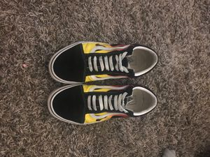 Vans with flames for Sale in Pasadena, TX