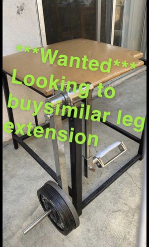 Leg extension for Sale in Westminster, CA