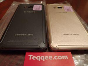 2 sim unlocked samsung galaxy s8 active 64gb for Sale in San Jose, CA
