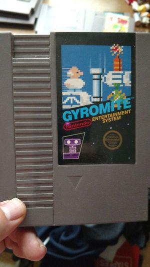 Gyromite nes game for Sale in Appomattox, VA