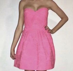 Wow Couture Pink Strapless Homecoming Cocktail Evening Dress Size Small for Sale in MENTOR ON THE, OH