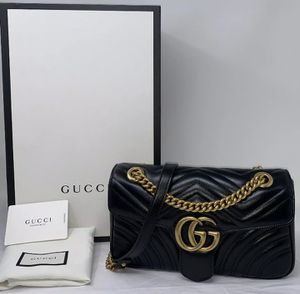 GUCCI Matelasse Marmont Black for Sale in Corona, CA
