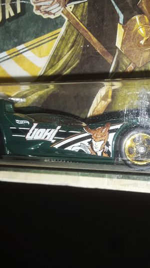 HOTWHEELS CHASE MARVEL LUKI ( SCOOPA DI FUEGO ) NEW IN PACKAGING for Sale in Providence, RI