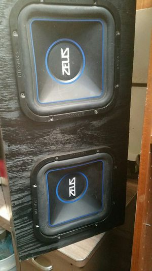 Zeus 12 in subs w/ Kenwood amp 1000w for Sale in Tullahoma, TN
