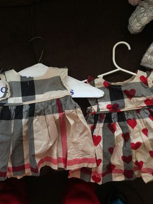 2 6 months Burberry dresses for Sale in Detroit, MI