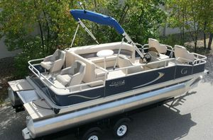 REDUCED-PRICE $1200$=2019 Pontoon 20 Grand Island G with Trailer!! for Sale in Chandler, AZ