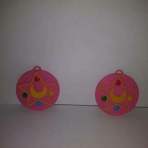 Sailor Moon Star emblem earrings for Sale in Euless, TX