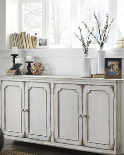 Mirimyn Antique White Accent Cabinet by Ashley for Sale in Arlington,  VA