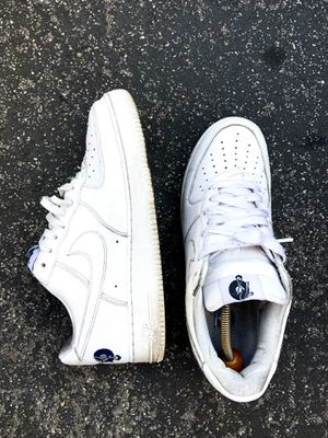 Nike air force 1 07' rocafella jay-z exclusive size 11 in white for Sale in Vernon, CA