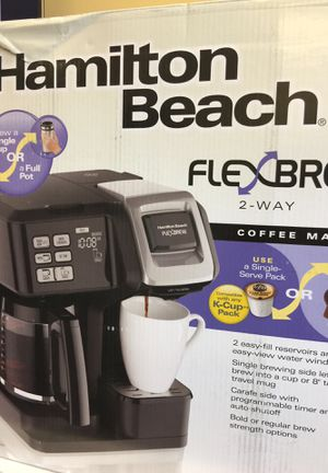 Hamilton Beach Flexbrew 2 way coffee maker for Sale in Las Vegas, NV