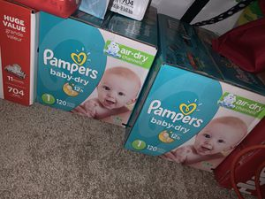 Diapers Pampers !!NEW!!!! for Sale in Riverside, CA