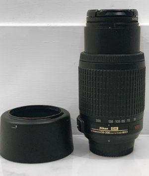 Nikon Lense AF-S 55-200mm 1:4-5.6G ED for Sale in Southwest Ranches, FL