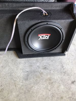 "Amp &12"" mtx subwoofers for Sale in Turlock, CA"