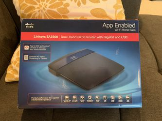 Linksys EA3500 2.4Ghz/5Ghz Dual Band Router for Sale in Damascus,  OR