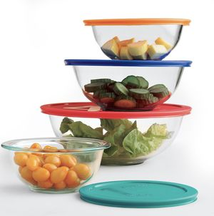 Pyrex 8-pc. Baking / Storage Bowl Set for Sale in San Jose, CA