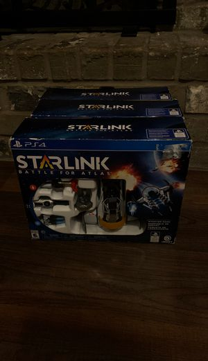 BRAND NEW starlink battle for atlas starter pack for PS4 i have 3 of them for Sale in Wichita Falls, TX