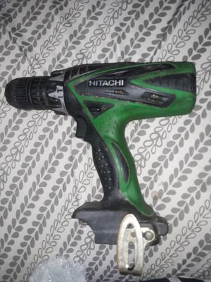 18v cordless hitachi hammer drill DONT HAVE BATTERY/ DOES WORK for Sale in Rincon, GA