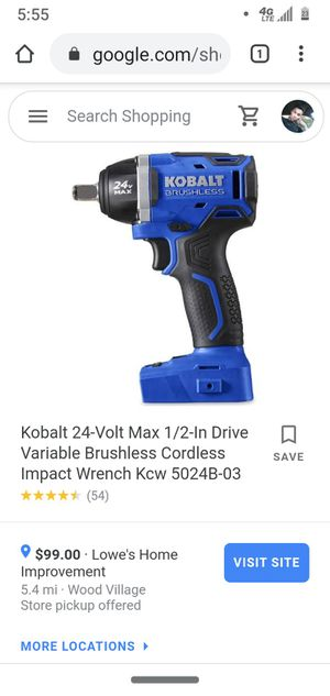 Brand new kobalt 24v 1/2-in drive with battery for Sale in Portland, OR