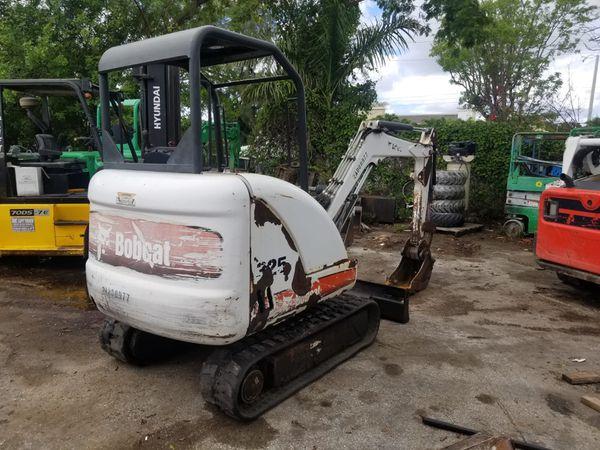 Excavator Excavadora Bobcat 325 A 241 O 2012 Bajas Horas For