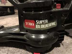 TORO super blowervac leaf blower for Sale in Rockville, MD