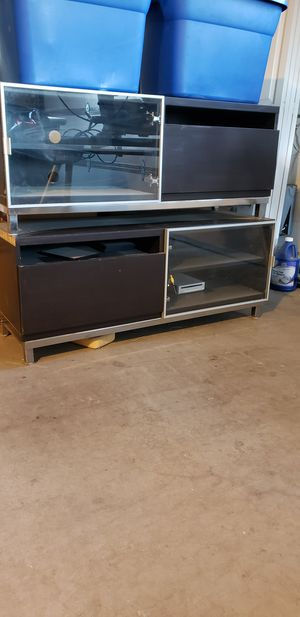 Beautiful dark brown 6ft TV stand for Sale in Scottsdale, AZ