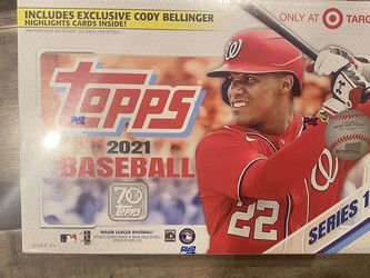 Topps 2021 Baseball Series 1 Mega Box SEALED - 3 Available for Sale in Seattle,  WA