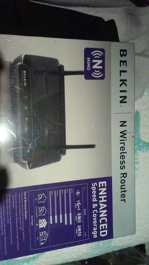 Belkin wireless router compatibl for Sale in Staten Island, NY
