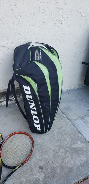 5 tennis rackets w/bag for Sale in Sunnyvale, CA