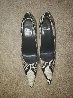 (Brand New) Stuart Weitzman Snake Skin Heels (size 9.5) for Sale in Stockbridge, GA
