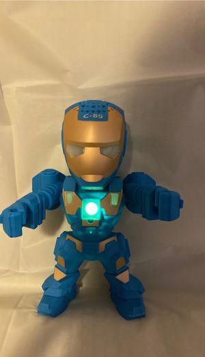 Iron man speaker blue for Sale in Fontana, CA