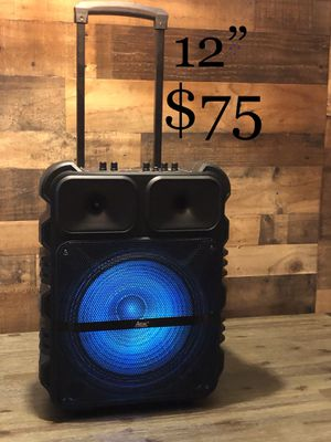 12 Aek Cyber Bluetooth Trolley Speaker 🔊 for Sale in Pico Rivera, CA