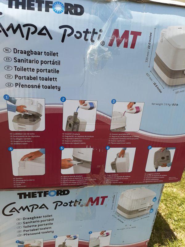 Campa potty portable toilet