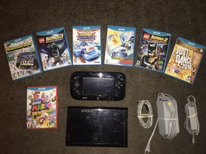 NINTENDO WII U with Lots Of Games for Sale in San Diego, CA