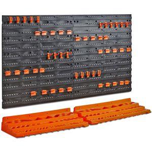 Garage Work Area Tool Large Modular Wall Organizer Storage System for Sale in Hemet, CA