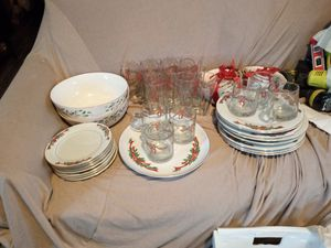 Christmas dishes for Sale in Rossville, GA