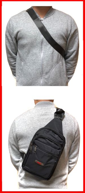 NEW! Side Bag Crossbody bag chest bag sling gym pouch biking hiking tablet holder day pack edc backpack travel bag for Sale in Carson, CA
