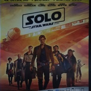 Solo: A Star Wars Story 4k for Sale in Attleboro, MA