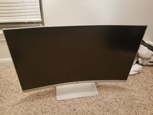 HP curved monitor for Sale in Houston, TX