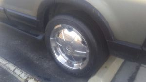 20 inch rim and tires for Sale in Greenville, NC