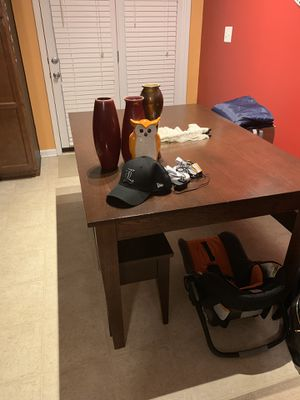Kitchen table solid oak for Sale in Lexington, KY