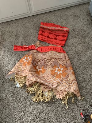 Moana Costume - Toddler 4T-5T for Sale in Whittier, CA