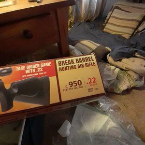 Prowler Break Barrel Hunting Air Rifle 22 Caliber for Sale in Meherrin, VA
