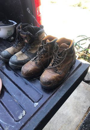 Work boots for Sale in Milpitas, CA