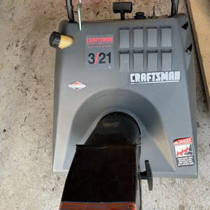 Craftsman Auger Propeller Electric Started for Sale in Birdsboro, PA