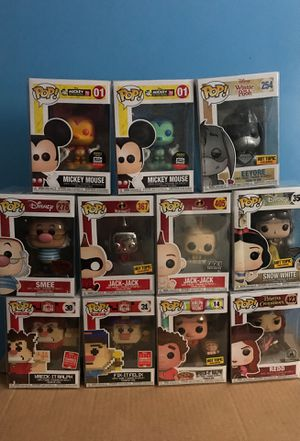 Exclusive Disney Funko Pops READ DESCRIPTION for Sale in Las Vegas, NV