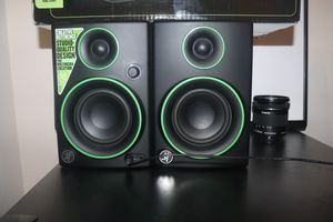 Mackie Cr3 Multimedia Monitors for Sale in Ruskin, FL