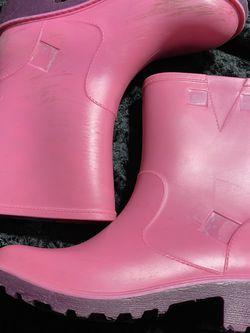 Girls Size 2 Skechers Rain boots for Sale in Covina,  CA