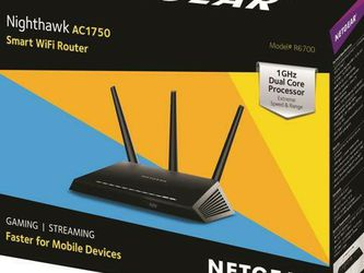 Netgear Nighthawk AC1750 Wifi Router And Netgear Cm700 High Speed Cable Modem Bundle Package for Sale in Las Vegas,  NV